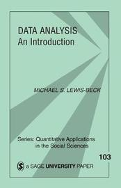 Data Analysis by Michael S.Lewis- Beck