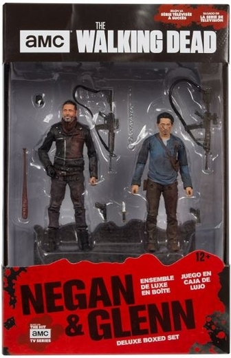 "The Walking Dead - Negan & Glenn 5"" Deluxe Box Set image"