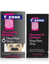 T-Zone Charcoal Nose Pore Strips (6 strips)