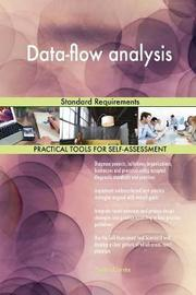 Data-Flow Analysis Standard Requirements by Gerardus Blokdyk image