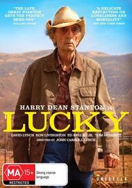 Lucky on DVD