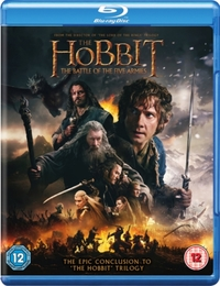 Hobbit Battle Of The Five Armies on Blu-ray