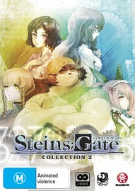 Steins;Gate - Collection 2 on DVD