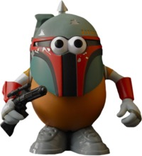 Star Wars - Boba Fett Mr Potato Head image