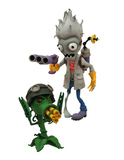 "Plants vs Zombies Scientist Zombie vs. Gatling Peashooter 5"" Action Figure Set"