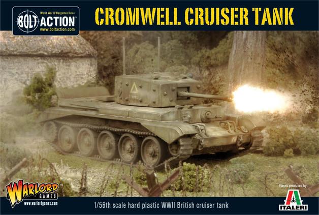 British Cromwell Cruiser Tank