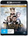 The Huntsman: Winter's War - Extended Edition on Blu-ray, UHD Blu-ray