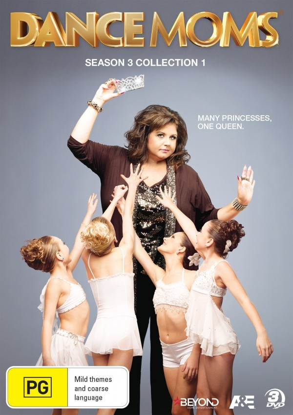 Dance Moms - Season 3: Collection 1 on DVD image