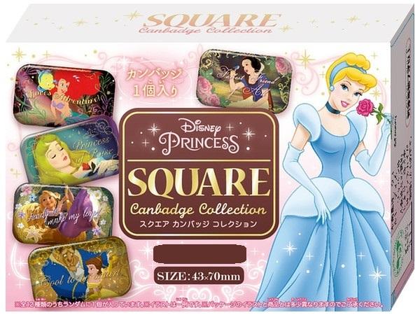 Disney Princess: Square Can Badge - Blind box