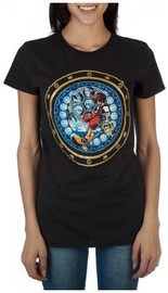 Kingdom Hearts: Sora Logo - Juniors T-Shirt (Medium)
