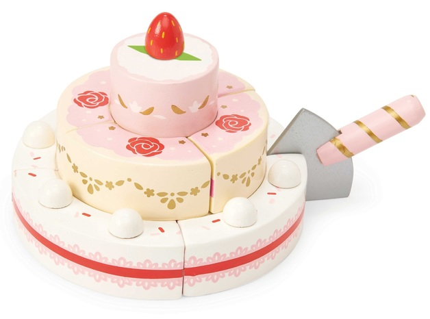 Le Toy Van: Honeybake - Strawberry Wedding Cake