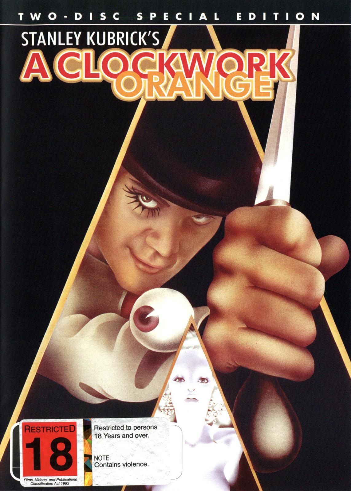 Clockwork Orange - Special Edition (2 Disc Set) on DVD image