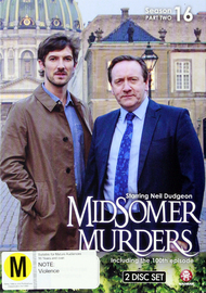 Midsomer Murders - Season 16 Part 2 on DVD
