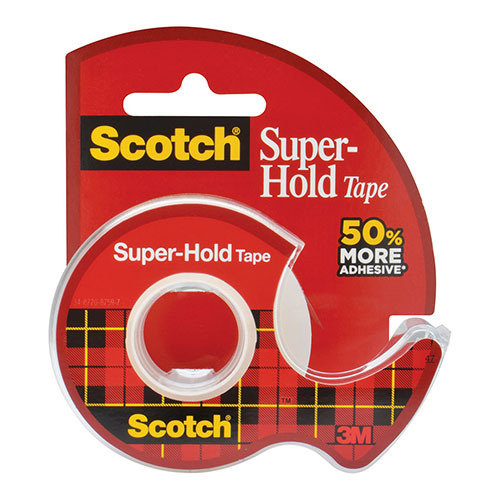 Scotch: Super-Hold Tape 198 - 19mm x 16.5m