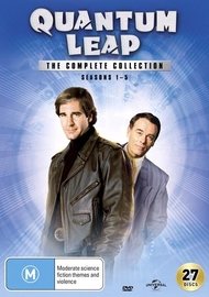 Quantum Leap Complete Collection on DVD image