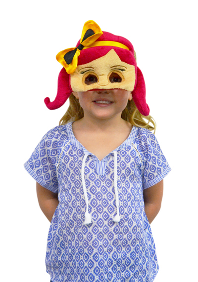 The Wiggles: Emma - Plush Face Mask