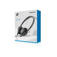 Sennheiser HD 100 Wired On-Ear Headphones - Black