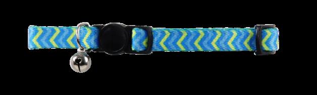 Pawise: Cat Collar - Ripple/Blue