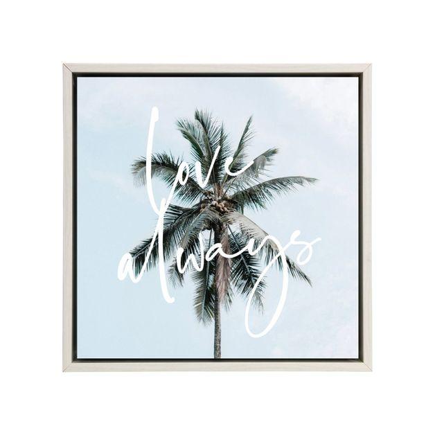 Splosh: Tranquil Love Always Framed Canvas
