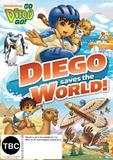 Go Diego Go! - Diego Saves the World DVD
