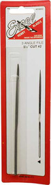 Excel Three Angle Needle File 5.5""