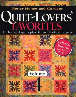 Quilt-Lovers' Favorites: v. 4