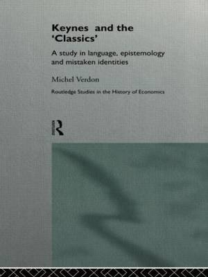 Keynes and the 'Classics' by Michel Verdon image
