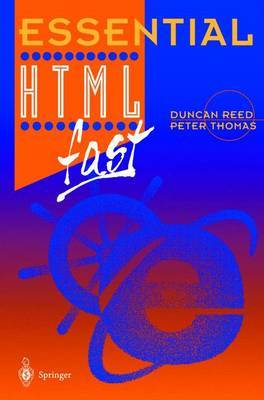 Essential HTML fast by Duncan Reed image