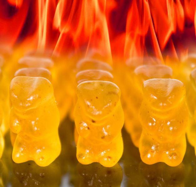 Evil Hot Gummi Bears (250g)