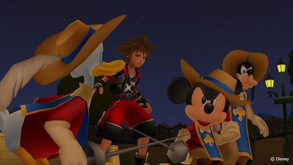 Kingdom Hearts HD 2.8 Final Chapter Prologue screenshot