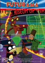 Futurama Season 4 Disc 2 on DVD