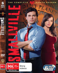 Smallville - The Complete 8th Season (6 Disc Set) on DVD