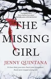 The Missing Girl by Jenny Quintana image