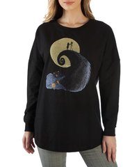 Nightmare Before Christmas - Slim-Fit Drop Shoulder Pullover (Medium)