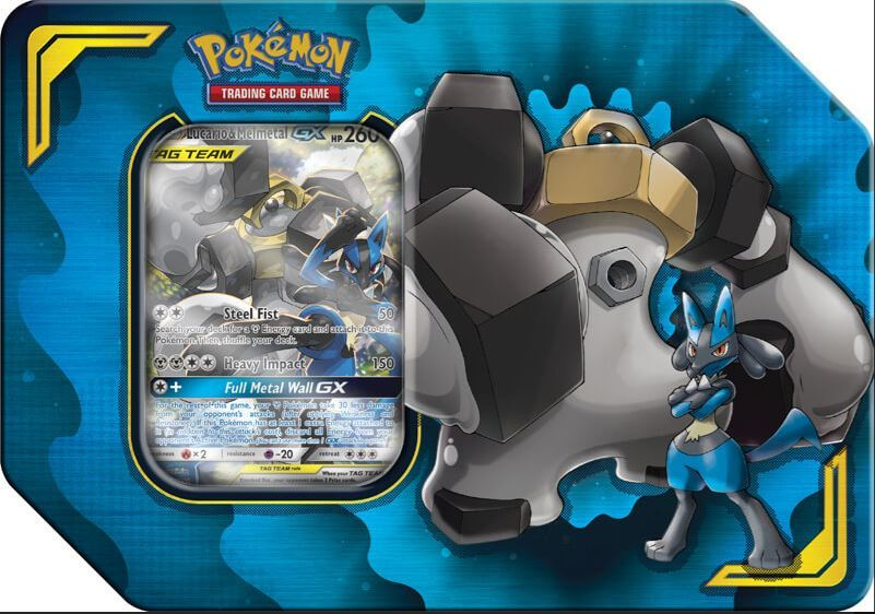 Pokemon TCG: Power Partnership Tin - Lucario & Melmetal-GX image