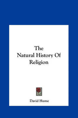 The Natural History of Religion by David Hume image
