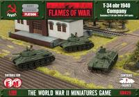Flames of War -T-34 obr 1940 and 1941 (x3)