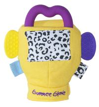 Gummee Glove : Yellow Glove with Teether