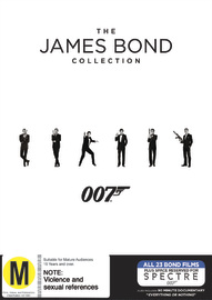 Bond 50: The Complete 23 James Bond Film Collection Box Set DVD
