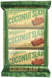 Whittaker's Toasted Coconut Slab