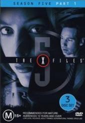 X-Files, The Season 5: Part 1 (3 Disc) on DVD