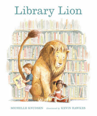 Library Lion by Michelle Knudsen image