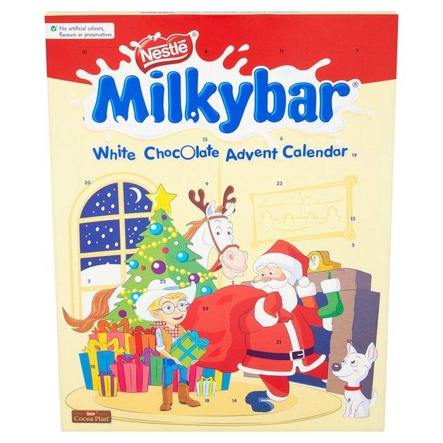 Nestle Milkybar Advent Calendar 85g At Mighty Ape Nz
