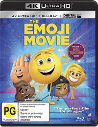 The Emoji Movie on UHD Blu-ray