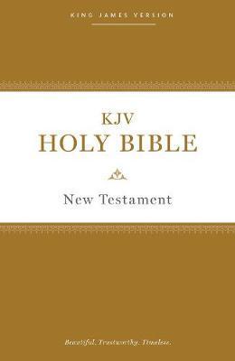 KJV, Holy Bible New Testament, Paperback, Comfort Print by Thomas Nelson