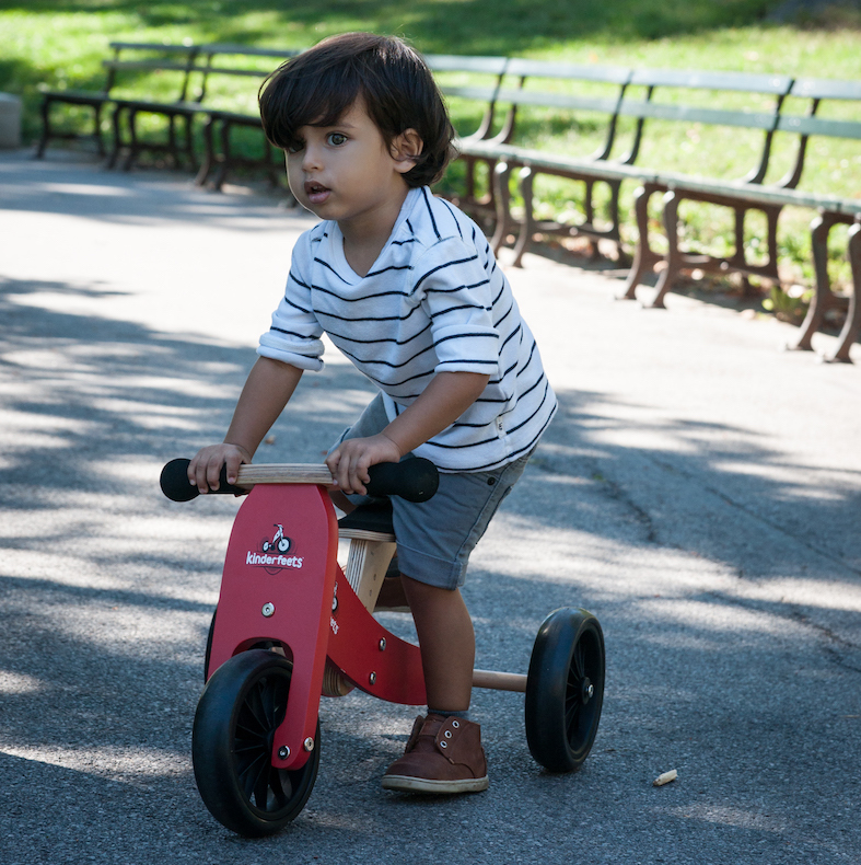 Kinderfeet: Tiny Tot - 2-in-1 Bike (Red) image