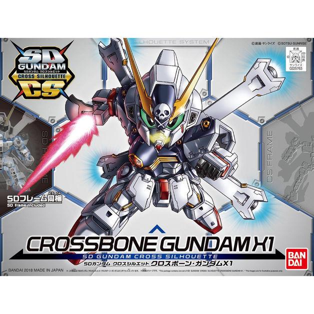 SD Cross Silhouette: Cross Bone Gundam X1 - Model Kit