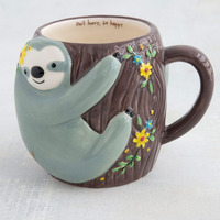 Natural Life: Mug - Folk Sloth