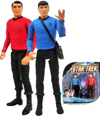 "Star Trek TOS 6"" Action Figure 2 Pack - Spock and Scotty"