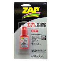 Zap Z-71 Red Thread Locker 6ml
